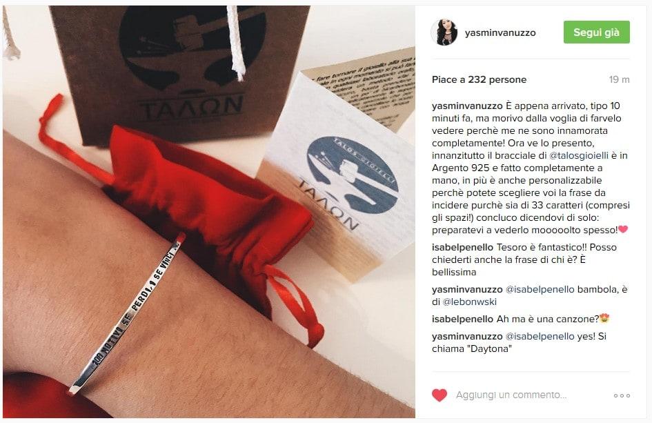 Yasmin Vanuzzo - Instagram