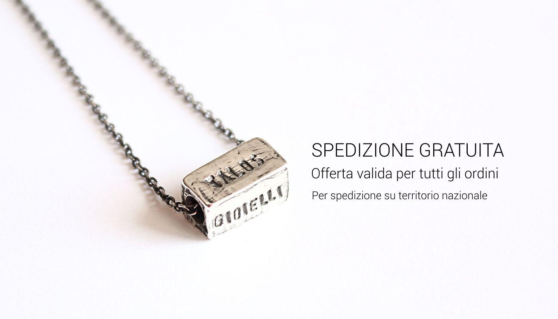Preferenza Gioielli personalizzati e incisi in argento | Talos Gioielli FG39